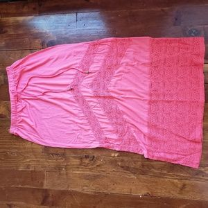 RIPcurl crochet maxi skirt